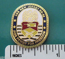 USS New Jersey - hat pin,  lapel pin, tie tac, hatpin GIFT BOXED
