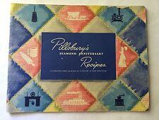 1944 Pillsbury Flour Mills Diamond Anniversary Recipes Booklet Home Front WWII
