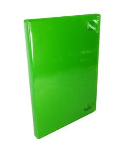 10 Lot Xbox 360 Green Replacement Game Cases Very Good 5Z
