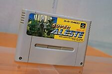 Super Famicom Super Aleste Space Megaforce Japan SFC SNES