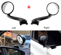 2x Car Rear View Mirror No Blind Spot Auxiliary Mirror 360 Degrees Adjustable