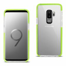 Reiko Samsung Galaxy S9 Plus Soft Transparent TPU Case In Clear Green | MaxStrat