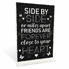 BEST FRIEND Standing Plaque Friendship Sign Birthday Christmas Gift For Friend