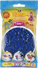 Hama 1000 Midi Bügelperlen 207-08 Blau Ø 5 mm Perlen Steckperlen Beads