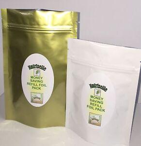 Wheatgrass Organic 750mg x 120 Gelatine Capsules - Detox Superfood Refill Pack