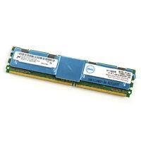 Dell Micron 4GB 2Rx4 DDR2 PC2-5300F Server Memory MT36HTF51272FZ SNP9F035CK2/8G