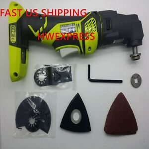 Ryobi   ONE+ P340 18-Volt JobPlus Base with Multi-tool Attachment Bare Tool Only