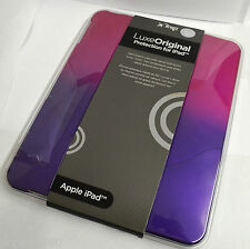Ifrogz Luxe Hard Case With Velvet Soft-Touch Finish For iPad 1 Purple/Pink