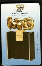 SCHEDE PRIVATE RESE PUBBLICHE L. 5000  NUOVA GOLDEN N. 266 Manni Scultura