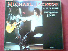 """MICHAEL JACKSON - CD SINGLE 3 TITRES """"GIVE IN TO ME"""""""