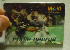 1997 Motion Vision EDDIE GEORGE Houston Oilers Movi Card Mint