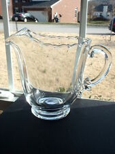 Fostoria Century 48 oz. Footed Pitcher with Ice Lip