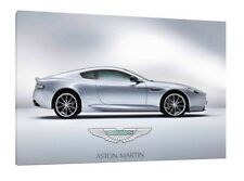 Aston Martin DB9 - 30x20 Inch Canvas Art - Framed Picture Poster Print