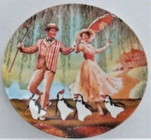 NEW Walt Disney Mary Poppins Collectors Plate #10528 A COA