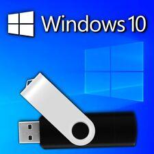Windows 10 32/64-bit 16Gb Usb Flash Drive - Legacy and Uefi Compatible