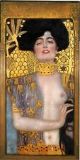 Gustav Klimt Fine Art Poster Print Judith and the head of Holofernes 18x36 inch