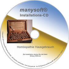 Info Schulung Homöopathie Software Programm mit Skript Zertifikat