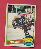 1980-81 OPC  # 250 OILERS WAYNE GRETZKY  EX-MT  CARD