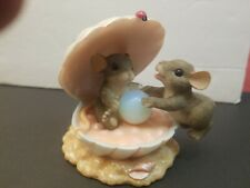 Charming Tails You'Re My Treasure Odd Ball With Two Mice Mouse In Shell Missing