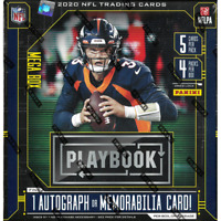 2020 PLAYBOOK FOOTBALL FACTORY SEALED MEGA BOX ORANGE PARALLEL FREE SHIPPING