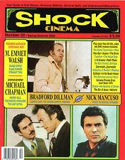 Shock Cinema #22 Steve Puchalski M. Emmet Walsh Nick Mancuso Bradford Dillman