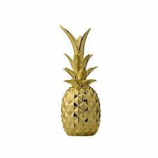 Modern Dekorativ Porzellan Gold Ananas Mittelstück von Bllomingville