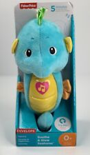 New listing Fisher Price Soothe & Glow Seahorse Newborn Infant toy musical Plush