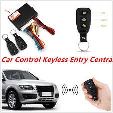 Car Auto Central Lock/Unlock Car Remote Control Conversion W/ 2 Keyless Entry