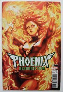 Marvel Comics - Phoenix Resurrection - The Return of Jean Grey #1 (2018) Artgerm