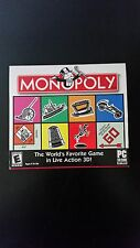 Monopoly 3 PC CD-ROM Software - Live 3D Action - Play Over Internet - 6 Players