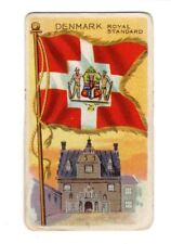Vintage Sweet Caporal Little Cigars DENMARK Flags Of All Nations Card