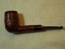 Saddle stem sandblast billiard shape briar estate pipe. Clean stem - no chatter