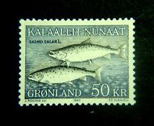 Greenland Scott #141 Unused Original Gum Never Hinged Scott Catalog Value $20.00