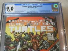 TEENAGE MUTANT NINJA TURTLES 7 CGC 9.0 1ST COLOR 4 PAGE STORY 4 SERIES 1ST PRINT