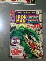 Tales of Suspense #93  FN-VF (1967) Marvel Comics~Iron Man Captain America