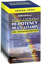 Windmill Hi-Potency Multi-Vitamin Tablets Adult Chewable 60 Tablets (Pack of 4)