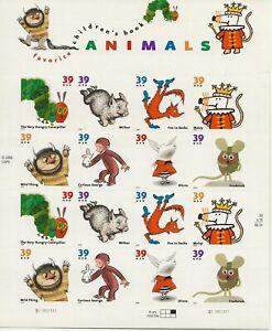 2006 39 cent Children's Books full Sheet of 16, Scott #3987-3994, Mint NH