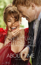 ABOUT TIME MOVIE POSTER 2 Sided ORIGINAL Advance 27x40 RACHEL MCADAMS