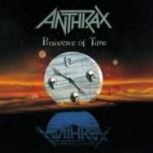 Anthrax Persistence of Time Island Masters CD Album VGC