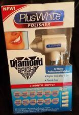 Plus White Diamond Bright Polisher + 5 Polish Heads - 12 Cups Fluoride Free