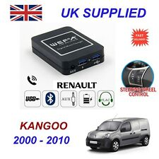For Renault Kangoo Music Streaming Bluetooth Telephone Charger SD AUX CD Module8