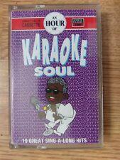 An Hour Of Karaoke Soul - Cassette - 19 Tracks - EMI HR 8214 (UK, 1992)