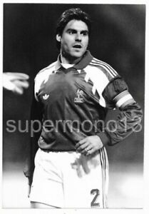 Original Press Photo - MANUEL AMOROS (France & Olympique Marseille) circa 1992