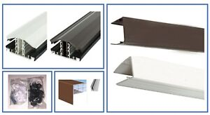 Glazing Bars and Fixings for 10mm Twinwall Roofing Polycarbonate Various