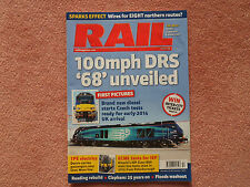 RAIL Issue 738 - Mid-Cheshire Line + Clapham rail accident: remembered + Tampers