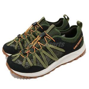 Merrell Wildwood Aerosport Lichen Green Gum Men Outdoors Water Shoes J036113