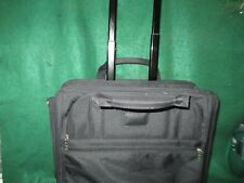 APC Soft Padded Briefcase, Laptop Computer Bag with wheels and pull handle #1763