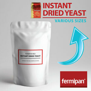 INSTANT DRIED YEAST Fermipan Red High Activity Instant Dry Bakers Yeast
