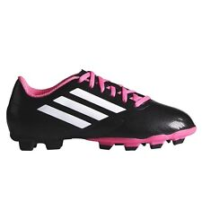 Adidas Junior Conquisto FG (Size: 5)(Black/Pink) Brand New with Damaged Box