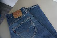Levis Levi's 501 Herren Men Jeans Hose 31/32 W31 L32 stonewashed Blau TOP AP16